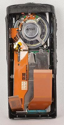 Black replacement housing case for Motorola GP380( LCD+Ribbon Cable+Speaker+mic