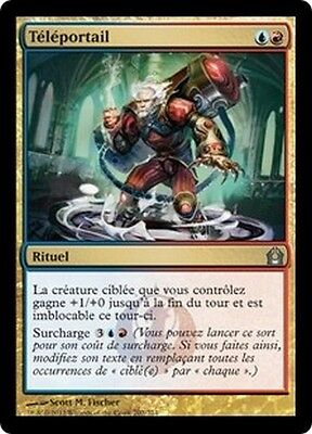 MTG Magic RTR - (4x) Teleportal/Téléportail, French/VF