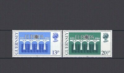 Guernsey, Europa Cept 1984, 25 Years Of Cept, Mnh