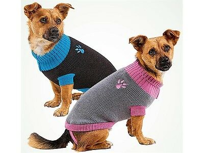 Pet Dog Jumper Sweater For Small Dogs Puppies 5 colours 3 sizes Melbourne Seller