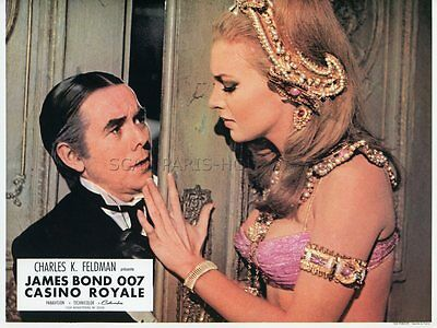 James Bond 007 Joanna Pettet Casino Royal 1967 Vintage Lobby Card #5