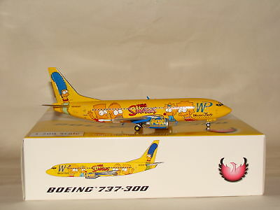 1:200 Phoenix 200 Western Pacific B737-300 Simpsons N494WP free shipping