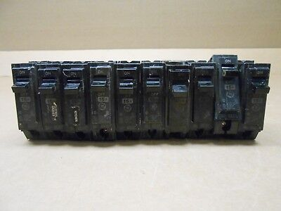 5 GE GENERAL ELECTRIC THQL THQL1115 CIRCUIT BREAKER 15A 15 AMP 1P 1 POLE 240V