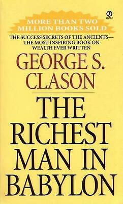 Richest Man in Babylon by George Samuel Clason (English) Paperback Book Free Shi