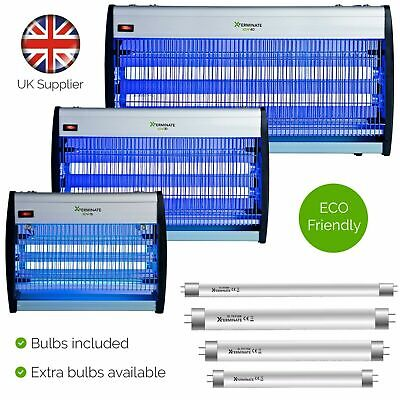 Electric Fly Flies Bug Insect Killer Zapper Spare Uv Tube Bulb Bulbs Light Lamp