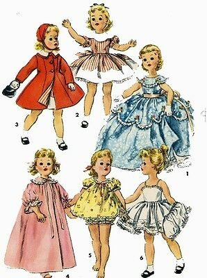 Vintage Doll Clothes PATTERN 1336 for 15 in Sweet Sue by American Character