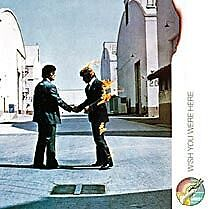 Pink Floyd Wish You Were Here LP cover steel fridge magnet (ro)