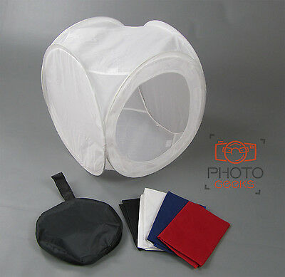 "Product Photography Light Tent 40cm / 16""  & Backdrops - Box Cube Photo Studio"