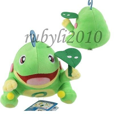 "new pokemon politoed 5"" soft plush figure doll toy cute green"