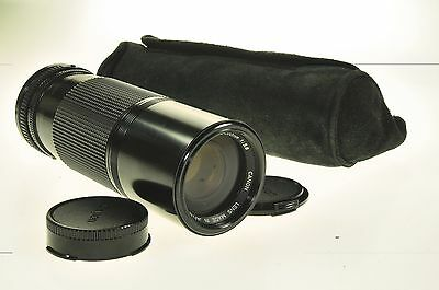 Canon Zoom Lens FD 100-200mm F5.6 Camera Lens