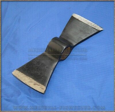 Double Hawk Axe Head Reenactment Weapon