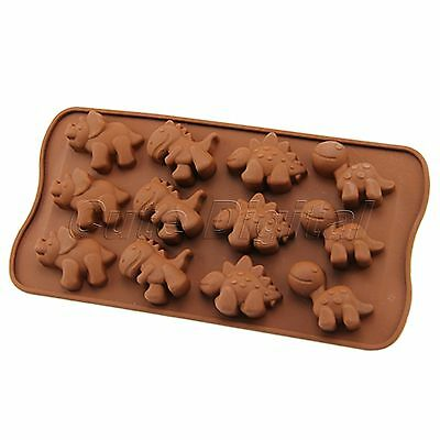 Lovely Silicone Mould Chocolate Cake Cookie Muffin Candy Ice Cube Tray Mold