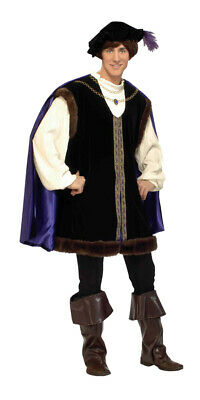 Noble Lord Designer Collection Adult Mens Costume Renaissance Medieval Halloween