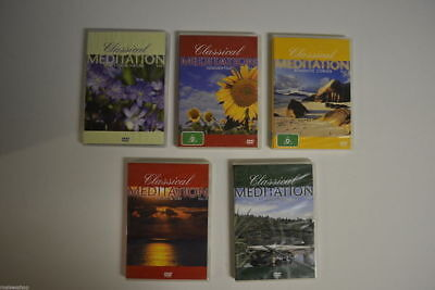 Classical Meditation collection vol 3 to 5 new region 4 stocked in Perth