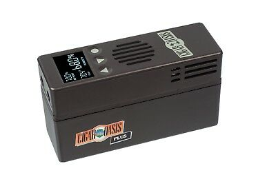 CIGAR OASIS Plus Electric Electronic Humidifier Free Ship Authorized Dealer