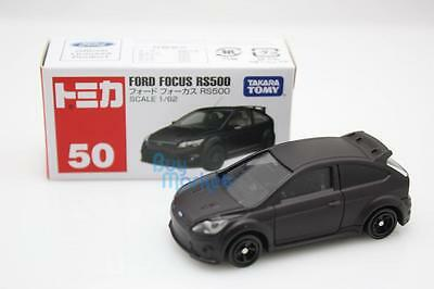 Takara Tomica Tomy #50 FORD FOCUS RS500 Black Scale 1/62 Diecast Toy Car Japan