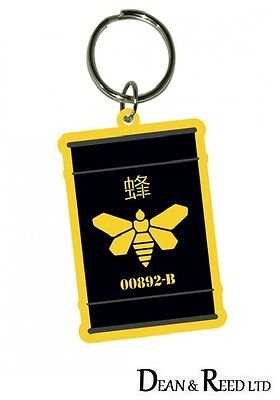 *NEW* Breaking Bad (Golden Moth) RUBBER KEYRING / KEYCHAIN BY PYRAMID