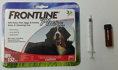NEW EPA Approved Merial Frontline Plus For Dogs 0-22 lbs 18 Months Dose Kit