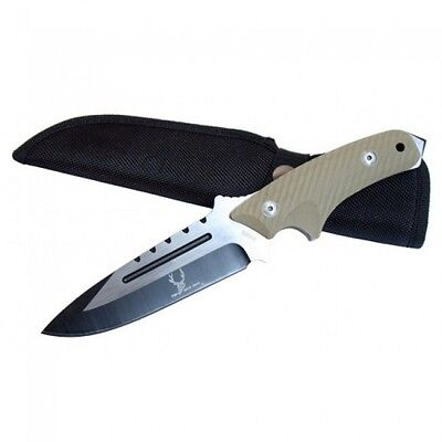 Full Tang Military Tactical Rescue Survival Hunting Knife - Bone Edge Collection