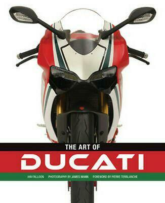 The Art of Ducati by Ian Falloon Hardcover Book (English)