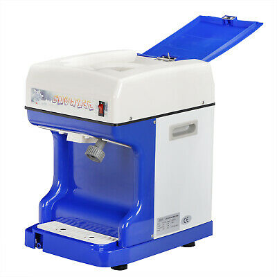 ICE SHAVER MACHINE SNOW CONE ICE CRUSHER MAKER DEVICE COMMERCIAL 110V 250 Watts