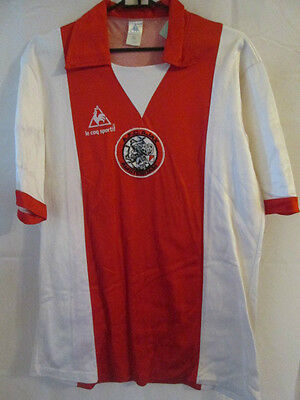 Ajax 1981-1983 Original Home Football Shirt Size Medium /12315
