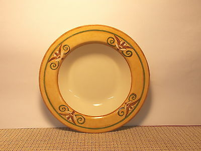 Coventry PTS Tuscana Pattern Rimmed Soup Bowl 9 1/8""