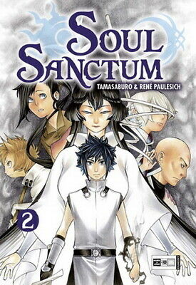 SOUL SANCTUM  Band 2  Egmont Manga Science-Fiction