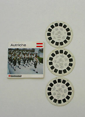 Viewmaster - Collection marque GAF - Autriche  -  3 disques - complet -3D-