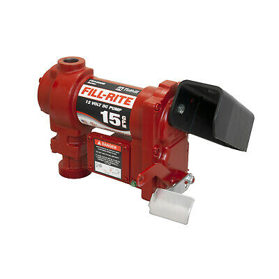 Tuthill/Fill-Rite FR1204G 12-Volt DC 1/4 HP 15 GPM Fuel Transfer Pump New