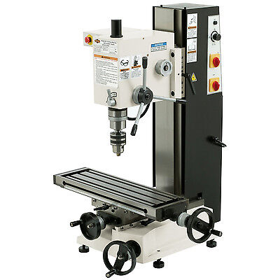 """Shop Fox M1110 Variable Speed 6"""" x 21"""" Dovetail Mill/Drill"""