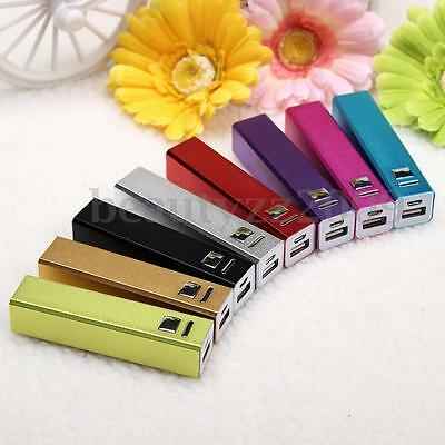 Aluminum USB 18650 Power Bank Phone Battery Charger Case Box For Iphone Sumsung
