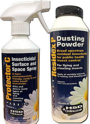 Bed Bug Spray Treatment Powder Killer House Room Kill Bedbugs Kit