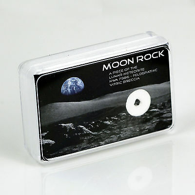 Moon Rock Meteorite NWA 4881 - Own A Real Piece of the Moon! - Lunar Meteorite