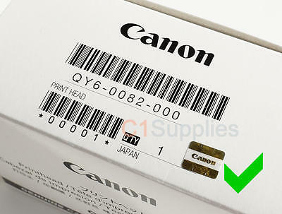 Original Canon QY6-0082 Druckkopf Printhead ip7250,MG5420,MG5450,MG6450,MX728