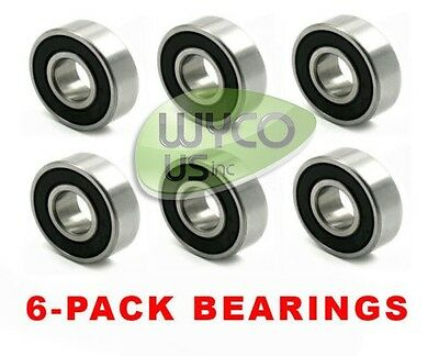 Lot 6 Spindle Deck Bearings For John Deere,gx20818, Jd8535, Gx21510, F710 & F725