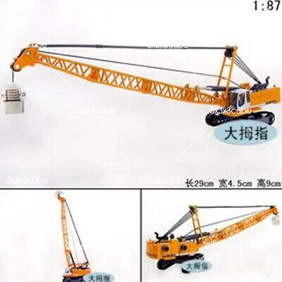 1:87 Scale 1/87 Machinery Crawler Tower Cable Excavator Diecast Model NIB