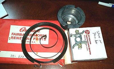 Fairbanks Morse Re-Coil Pull Starter Parts Spring 20-273 Shoe111-69 Cup 14-3 Nos