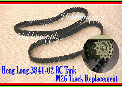 HENG LONG 1/30 3841-02 M26 Tank Accessory Replacement Plastic Track x 1 SET