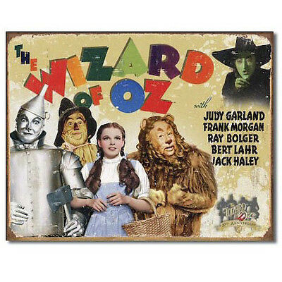 Wizard of Oz 70th Anniversary Metal Sign