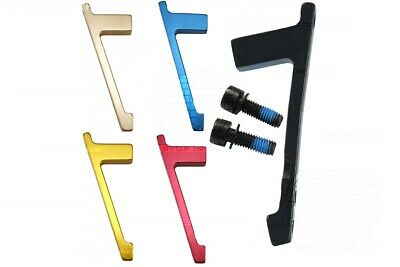 POST to POST Mount PM Disc Brake Adaptor 180mm / 7 Inch Avid Shimano, 5 Colours