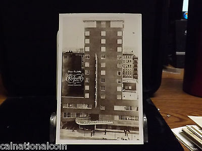 Spokane, WA  The Ridpath Hotel Drive In Lobby  Smiths  Real Photo Post Card