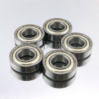 5PCS 6900ZZ Deep Groove Metal Double Shielded Ball Bearing (10mm*22mm*6mm)
