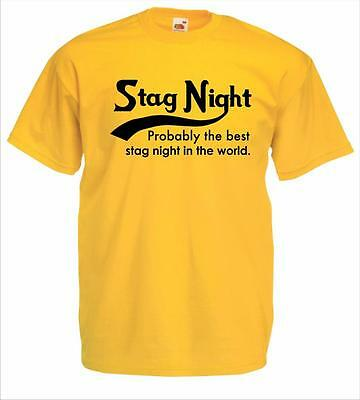 Probably the Best Stag Night T-shirt Tee Tshirts in the world - Stag Do Tees