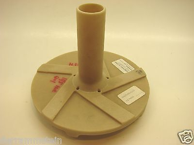 "Fybroc 1500 Pump Impeller 7"" Diameter 00204B001D 1"" x 1-1/2"" x 7"" NEW  b59"
