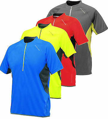Dare2b Retaliate Mens Cycle Jersey Cycling Half zip Short Sleeve DMT095