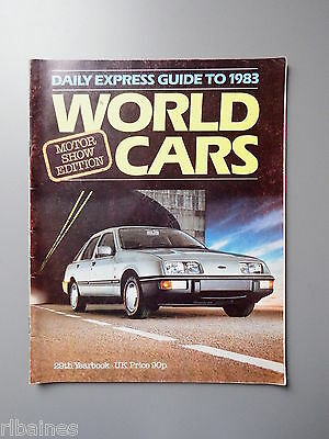 R&L Daily Express Guide to 1983 Cars Mercedes/Honda/Peugeot/Rover/Jaguar/Toyota