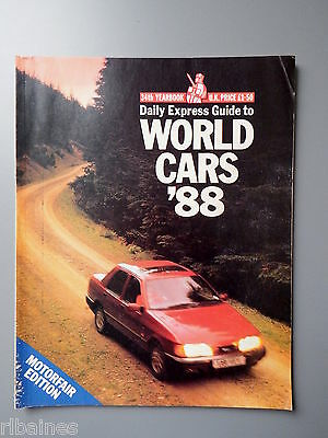 R&L Daily Express Guide to 1988 Cars Mercedes/Volvo/Peugeot/Rover/Jaguar etc
