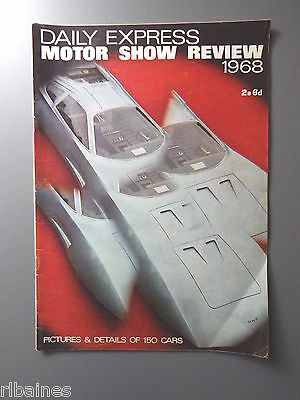 R&L Daily Express Motor Show Review of Cars 1968, Triumph/Mercedes/MG/Morris etc