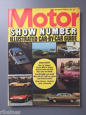 R&L Mag Motor, Show Special 1974 Escort Rs2000 Test/All UK Cars Covered